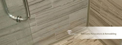 Bathroom Renovations and Remodeling by McCarty's Quality Home Exteriors