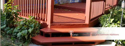 Decks, Patios and Porch Additions by McCarty's Quality Home Exteriors
