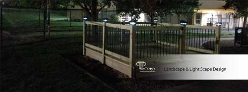 Landscape and Light Scape Design by McCarty's Quality Home Exteriors